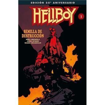 Hellboy 1: Semilla de destrucción - Edición gigante especial 25 aniversario