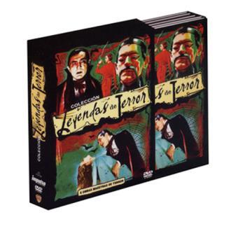 Pack Colección Leyendas del terror - DVD