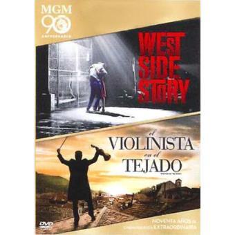 Pack West Side Story + El violinista en el tejado - DVD