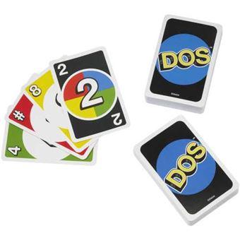 Juego de cartas Uno-Dos Mattel FRM36