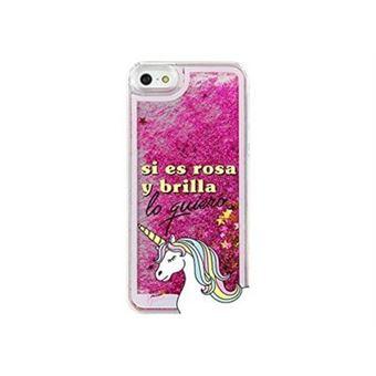 Funda La vecina rubia Si es rosa y brillante lo quiero para iPhone 5