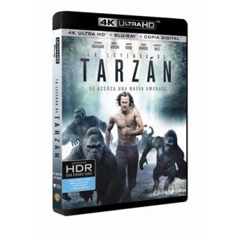 La leyenda de Tarzán - UHD + Blu-Ray