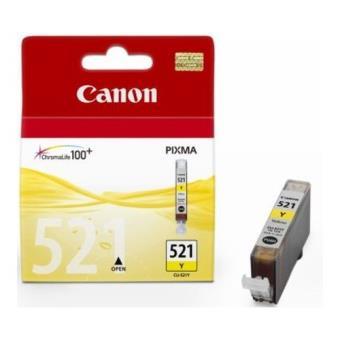 Canon 521 Tinta amarilla