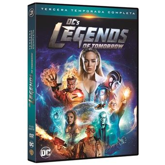 Legends of Tomorrow - Temporada 3 - DVD