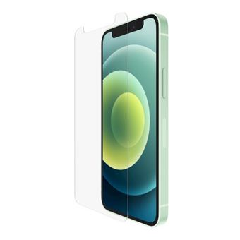 Protector de pantalla Belkin antimicrobiano TemperedGlass para iPhone 12/ 12 Pro