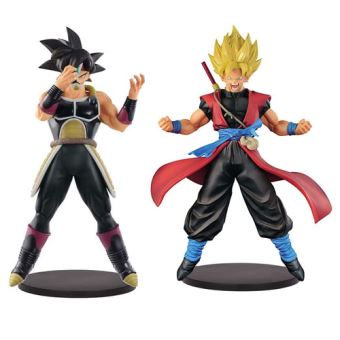 Set De 2 Figuras Dragon Ball Z Masked Saiyan Y Son Goku Xeno
