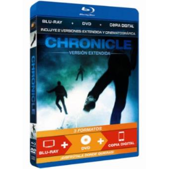 Chronicle - Versiones cinematográfica y extendida - Blu-Ray + DVD + Copia digital