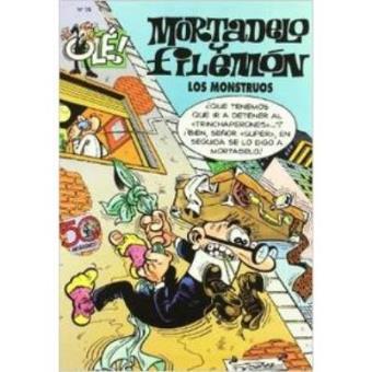 Ole! Mortadelo -  Los monstruos