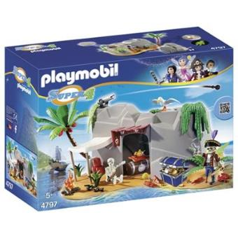 Playmobil Super 4 Cueva pirata