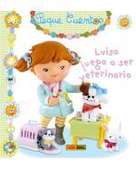 Luisa juega a ser veterinaria