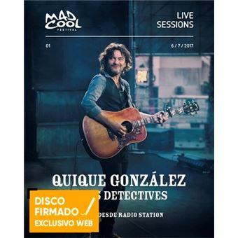 En vivo desde Radio Station - DVD + 2 CD - Disco Firmado