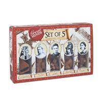 Set 5 rompecabezas Great Minds Women