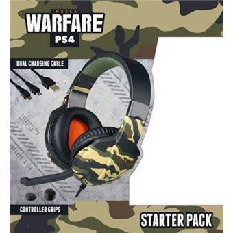 Starter Pack Indeca Warfare 2019 PS4