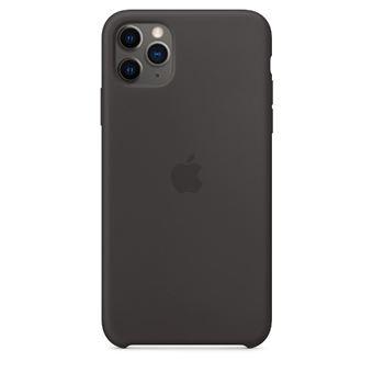 Funda de silicona Apple Negro para iPhone 11 Pro Max