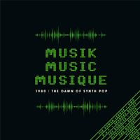 Box Set Musik Music Musique 1980: The Dawn Of Synth - 3 CDs