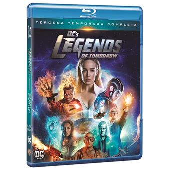Legends of Tomorrow - Temporada 3 - Blu-ray