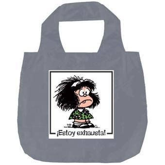 Bolsa plegable Mafalda ¡Estoy exhausta!