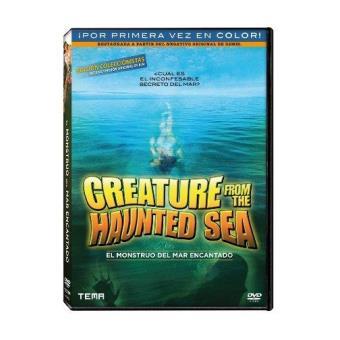 El monstruo del mar encantado - DVD