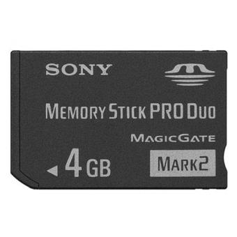 Sony MEMORY STICK DUO 4 GB Tarjeta de Memoria