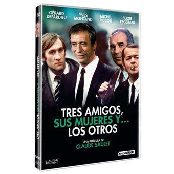 Tres amigos, sus mujeres y… los otros - DVD