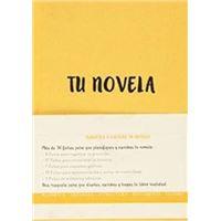 Cuaderno Tu novela A5 Amarillo