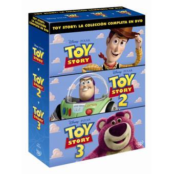 Pack Toy Story: Trilogía - DVD