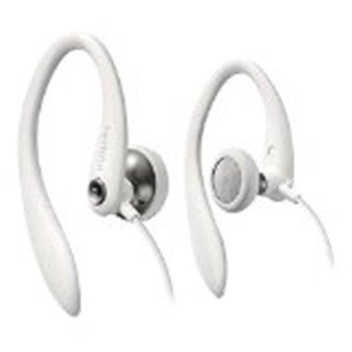 Philips SHS3300WT/10 - Auriculares deportivos blancos