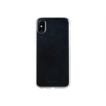 Funda Muvit Crystal Soft lite Transparente para iPhone X