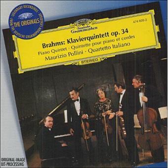 Quinteto piano Op. 34