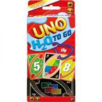Juego de cartas Uno H20 To Go Mattel P1703