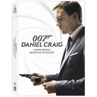 Pack James Bond 007: Daniel Craig - DVD