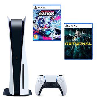 Consola PS5 + Returnal + Destruction Allstars