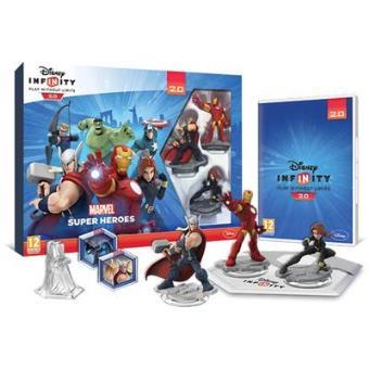 Disney Infinity 2.0 Marvel Starter Pack Wii U