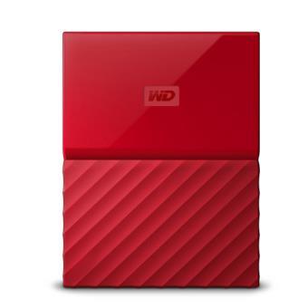 Disco duro portátil WD My Passport 1TB Rojo