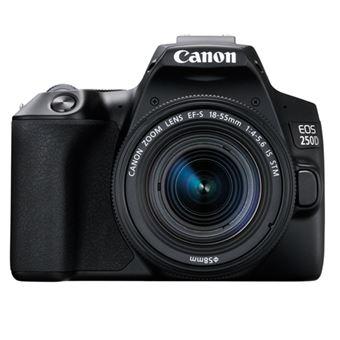 Cámara réflex Canon EOS 250D + 18-55IS STM Negro