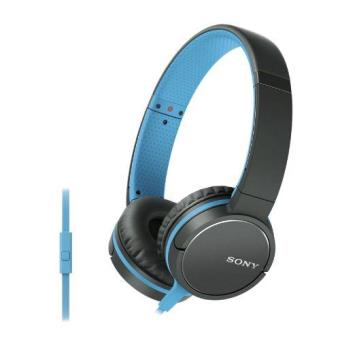 Auriculares Sony MDR-ZX660AP Negro/Azul