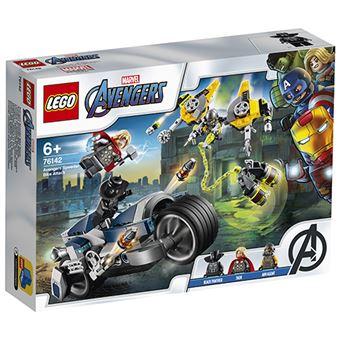 LEGO Super Heroes Marvel 76142 Vengadores: Ataque en Moto