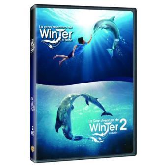 Pack La gran aventura de Winter el delfín 1 y 2 - DVD