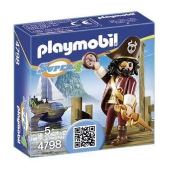 Playmobil Super 4 Pirata Sharkbeard