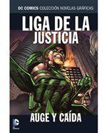 Colección Novelas Gráficas 61 - Liga de la Justicia - Auge y caída