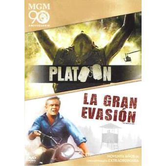 Pack Platoon + La gran evasión - DVD