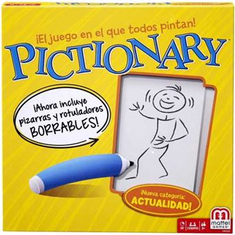 Pictionary Mattel DKD51