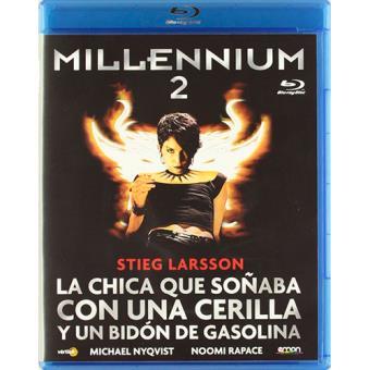 Millennium 2: La chica que soñaba con una cerilla y un bidón de gasolina - Blu-Ray
