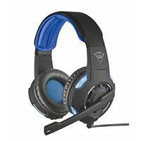 Auriculares Trust Gaming GXT 350 Radius 7.1 Negro