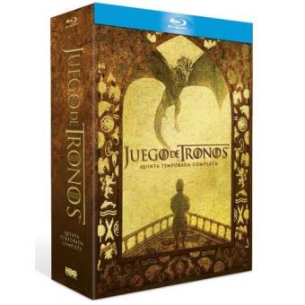 Juego de TronosJuego de tronos  Temporada 5 - Blu-Ray
