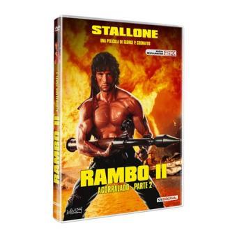 Rambo: Acorralado II - DVD