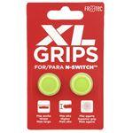 Grips FR-TEC Pro XL Amarillo Neón para Nintendo Switch