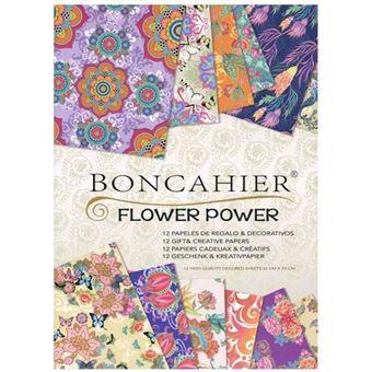 Papel de regalo Boncahier Flower Power