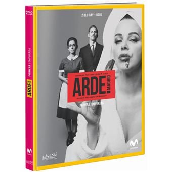 Arde Madrid  Temporada 1  Ed Digibook Blu-Ray