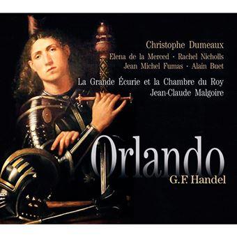 Haendel - Orlando - Malgoire - 3 CD